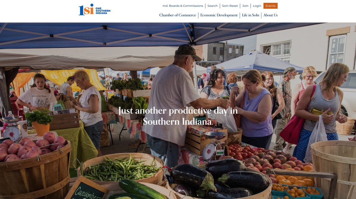 One Southern Indiana Home Page Image