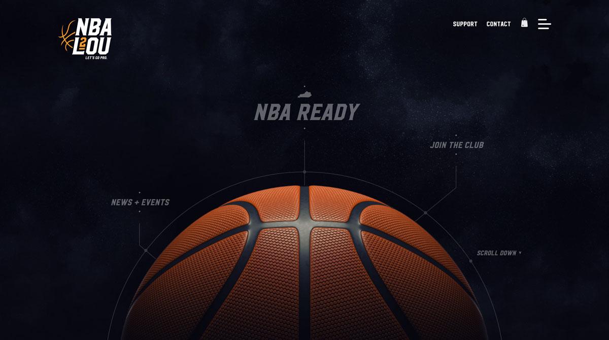 NBA2Lou Home Page Image